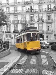 Classical sight in Lisbon.