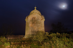 Night at the mausoleum (poach01) Tags: longexposure lightpainting building architecture memorial tomb haunted nighttime mausoleum themoon nightshooting