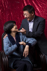Dad & Mom ( Kuo-studio) Tags: new family love mom nikon dad father year chinese cny mather d610 2470mm28g