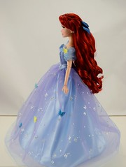 Fairytale Designer Ariel Doll in Royal Ball Cinderella's Outfit - Full Right Side View (drj1828) Tags: ariel ball doll princess designer royal disney cinderella gown limitededition mattel ballgown liveactionfilm 1112inch swappingoutfits disneyfairytaledesignercollection