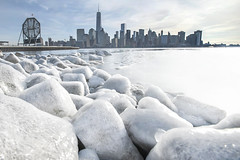 The Day After Tomorrow I (laverrue) Tags: nyc snow cold clock ice frozen hudsonriver gothamist colgate freedomtower