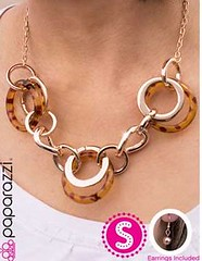 5th Avenue Brown Necklace K1A P2310A-4