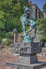 Millesgrden (AyaxAcme) Tags: sculpture europa europe sweden stockholm schweden sverige scandinavia hdr estocolmo stoccolma suecia liding millesgrden carlmilles skulpturen photomatix escandinavia olgamilles tonemapped skulpturpark canon60d canoneos60d eos60d hdrworldsweden