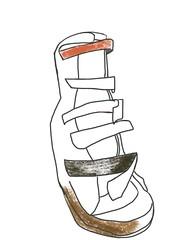 2014.12.13 Boots of Difficulty -Parkinson's Boot (For ML) (Julia L. Kay) Tags: sanfrancisco woman art mobile female digital sketch san francisco artist arte julia kunst kay daily dessin peinture 365 everyday dibujo app touchscreen artista mda fingerpaint artiste knstler iart ipad isketch mobileart idraw juliakay julialkay iamda mobiledigitalart fingerpainterouchdigitalmdaiamdamobile procreateapponly artfingerpainterprocreateprocreateappprocreate