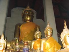A Sitting Buddha Wat Pho