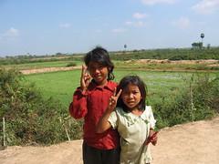 School Children Roam the Killing Fields