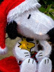 Nothing's gonna harm you. (e r j k . a m e r j k a) Tags: christmas holiday whimsy friendship peanuts explore snoopy figure woodstock freundschaft amistad amitié