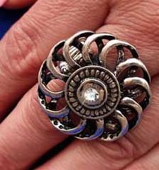 5th Avenue Silver Ring K2 P4141A-4