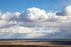 Great cloud and plain (hanbaophillip) Tags: cloud newmexico nature sunshine skyline landscape roadtrip   plain  blueandwhite  skylovers