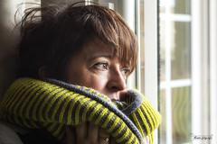 Cold outside 6/52 (Montse capsadefils) Tags: winter portrait woman selfportrait me project retratos project52weeks