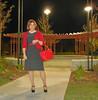 Polka Dots (krislagreen) Tags: tv dress cd hose tgirl transgender polkadots purse transvestite maryjanes crossdress tg patent feminized