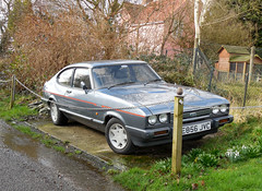 1988 Ford Capri 2.8 Injection (Spottedlaurel) Tags: ford capri injection 28i