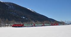 MGB Glacier Express near Ulrichen (TrainsandTravel) Tags: schweiz switzerland suisse narrowgauge mgb electrictrains matterhorngotthardbahn schmalspurbahn trainsélectriques voieetroite elektrischezüge
