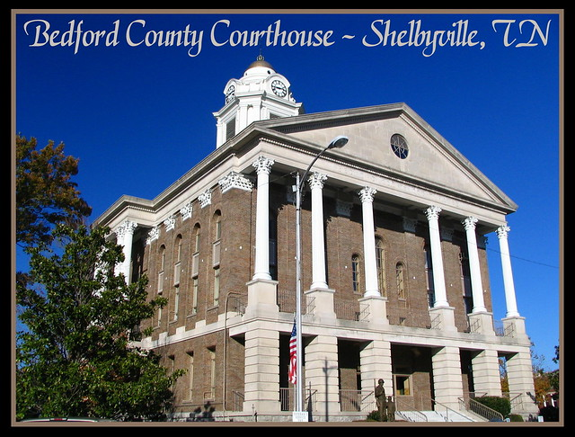 For Sale: TN Courthouse Postcard Collection: Bedford