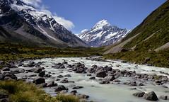 Rush Hour at Mount Cook (Kristin Repsher) Tags: longexposure newzealand mountains nikon df canterbury nz southisland southernalps tramping mountcook aoraki hookervalley mountcooknationalpark hookerriver