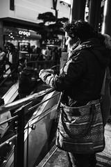 Rest (Tobias Zils) Tags: street white black women fuji streetphotography fujifilm rest oberhausen pottpourri fujixpro1