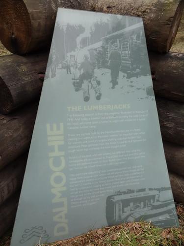 Cambus O'May Walk Dalmochie Logging Camp WWII