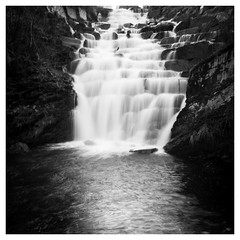 # (Nordic Aperture) Tags: water speed river waterfall slow 28mm running shutter handheld gr ricoh