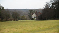 A Little House in the Woods 1005 (Thorbard) Tags: trees building tree tower field grass architecture woodland bay spring woods lawn meadow overcast column nationaltrust oxfordshire greyscourt baywindow englanduk canonefs1585mmf3556isusm spring2015