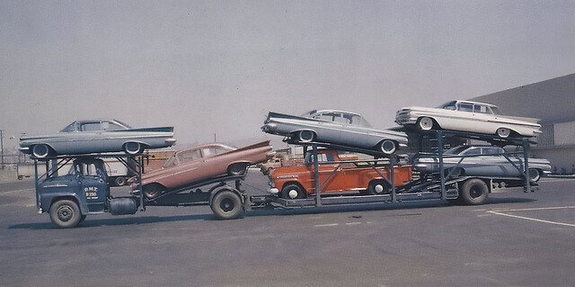 truck delivery 1959 chevrolets