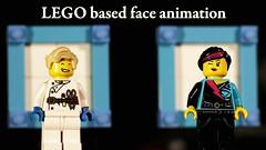 LEGO face animation (Chris 'Beard') Tags: motion face digital lego stop animation tutorial stopmotion