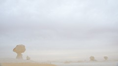 In an alien world (pranav_seth) Tags: white storm rain starwars alien egypt oasis sandstorm bawiti bahariya whitedesert alienplanet alienworld