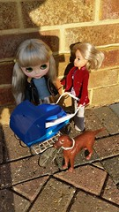 Sindy helps Sylvie with her new baby.