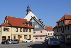 (:Linda:) Tags: street germany town bluesky thuringia themar