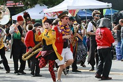 Fremont Solstice 2016  2236 (khaufle) Tags: solstice fremont wa usa marchingband parade saxaphone