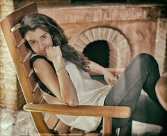 The Way She Is (Steve Lundqvist) Tags: portrait people woman girl closeup chair sedia ritratto