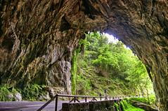 CFR2937 La Cuevona (Carlos F1) Tags: nikon d300 asturias principado cueva cuevona cave hdr high dynamic range alto rango dinmico estalactitas stalactites road camino path carretera principadodeasturias spain