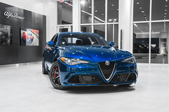 Alfa Romeo Giulia Quadrifoglio (Jason Sha'ul) Tags: alfa alfaromeo giulia quadrifoglio stpete clearwater tampa alfaromeoofstpete alanjay showroom dealership nikon d7100 dslr sigma1835mmf18 sigmalens longexposure jasonshaul trendsetterdevelopments longexposurephotography carphotography automotivephotography automotive automobile italian car exoticcar sportscar