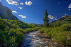 mt-crested-butte-2016-hdr-3 (Wildsight Photography) Tags: crestedbutte colorado sky sun rays light river trees mountain