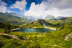 Lago Rotondo (santiandre97) Tags: lago lake natura nature italy grandangolo montagna travel viaggio landscape mountain italia bergamo nikon nikond7200 sigma816 green