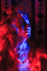 Diva (Hugo Baptista) Tags: longexposure portrait lightpainting quilting patchwork diva opticalfiber