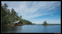 Boathouse (lyncaudle) Tags: ely gus landscape lyncaudle minnesota nature travel vacation northwoods lake