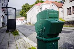 Fire Hydrant in Sandviken (Sturlaz) Tags: bergen norway outdoor fire hydrant reverse waiting shed sandviken nikon d700 fx