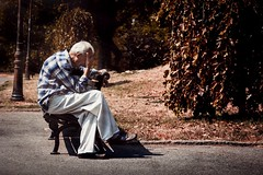 reWIND (Ivan Peki - www.ivanpekic.com) Tags: old man grandpa nature sad end death oldage age senility grandfather granddad grandparent grandpapa