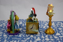 Disney Store Purchases - 2016-07-22 - Alice and Peter Pan Sketchbook Ornaments, Lumiere Light Up Ornament - Left Side View (drj1828) Tags: us disneystore disneyparks ornament lightup sketchbook aliceinwonderland peterpan purchase online