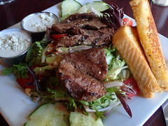 201608051177 (Tom Spaulding) Tags: steaksalad food meat restaurant oldcityhall gilroyca california gilroy ca