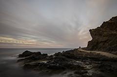 El pescador (J Fuentes) Tags: sky agua flickr save cielo granada nubes salobrea largaexposicin costatropical