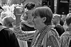 Prost (heiko.moser ( 9000000 views )) Tags: prost sw schwarzweiss street strasse streetart streetfotografie schwarzweis streetportrait streetfoto women people personen publicity person portrait leute menschen monochrom mono noiretblanc nb nero bw blackwhite blancoynegro entdecken discover einfarbig frau bier canon candid city heikomoser