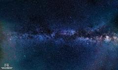 Milkyway by the zenith (Nature-enthusiast) Tags: longexposure sky panorama night photoshop stars sony wideangle galaxy astrophotography astronomy 12mm alpha deepspace lightroom rokinon a6000 astrometrydotnet:status=failed astrometrydotnet:id=nova1649048