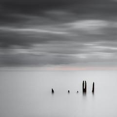 Silence (EXPLORE 02.08.2016) (Fern Blacker) Tags: longexposure finest eastsussex sussex clouds sky seascape water sea beach pettlevel appictureoftheweek