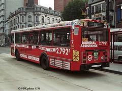 177-037810 (VDKphotos) Tags: stic vanhool vha120 man autobus pub werbung mondialassistance belgium wallonie charleroi