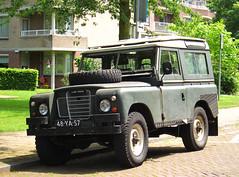1973 Land Rover 88 Metal Top (Series III) (rvandermaar) Tags: 1973 land rover 88 metal top series iii landrover landroverseriesiii landrover88 sidecode3 import 48ya57