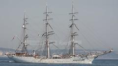 Stiftelsen Skoleskipet: CHRISTIAN RADICH (P.J.V Martins Photography) Tags: veleiro mastro mast tallship wind sail sailboat oeiras portugal maritime lisboa lisbon norway navy marinha