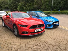 Ford Mustang GT & Focus RS (VAGDave) Tags: ford mustang gt focus rs