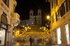 Roma by Night (18) (Yksel85) Tags: nikon rome roma italia piazzadispagna piazzanavona pantheon campidoglio colosseo teatromarcello foriimperiali imperoromano night bynight lungheesposizioni calcata gatto fontana sciee