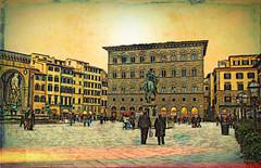 shunned in Florence (eepeirson) Tags: florence firenze neptune cosimodemedici piazzadellasignoria shunned firstvisitever txeeptopaz